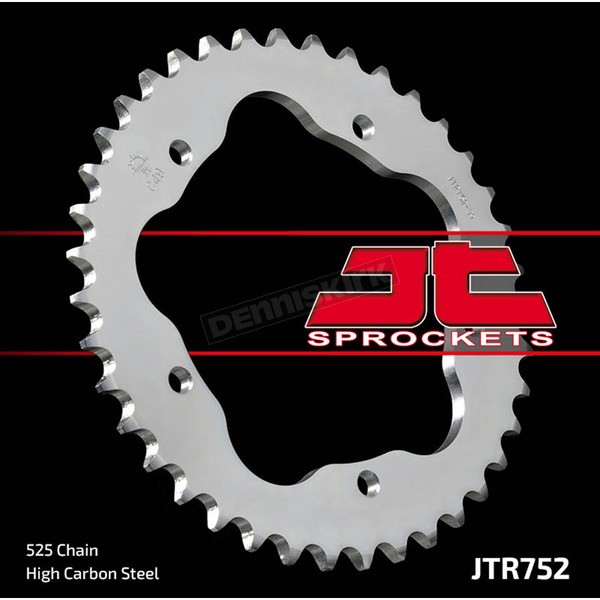 JT Sprockets Rear 525 41 Tooth C49 High Carbon Steel Sprocket - JTR752.41