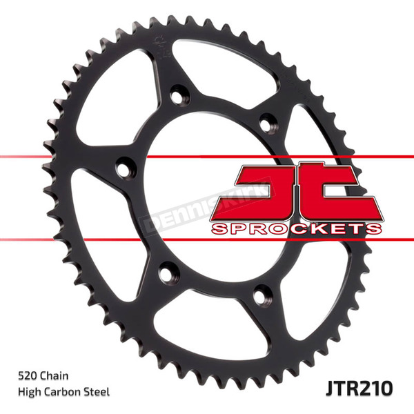 JT Sprockets High Carbon 520 43 Tooth Steel Rear Sprocket - JTR210.43