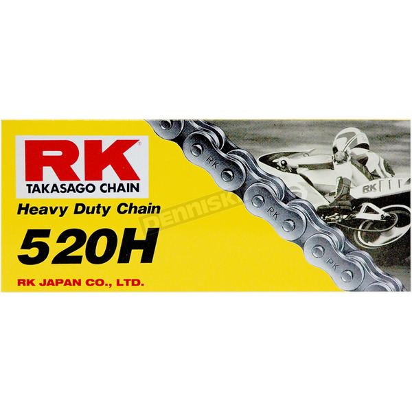 RK Natural 520H RKM Heavy-Duty Chain - M520H-120
