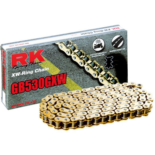 RK Gold 530GXW XW-Ring Chain - GB530GXW-120