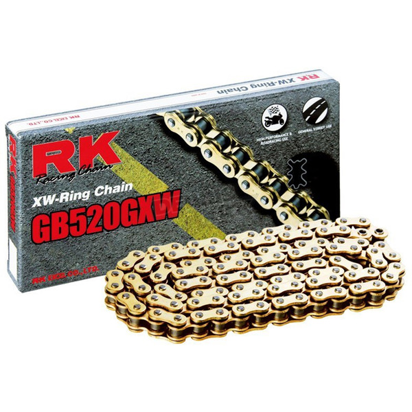RK Gold 520 GXW XW-Ring Chain - GB520GXW-150