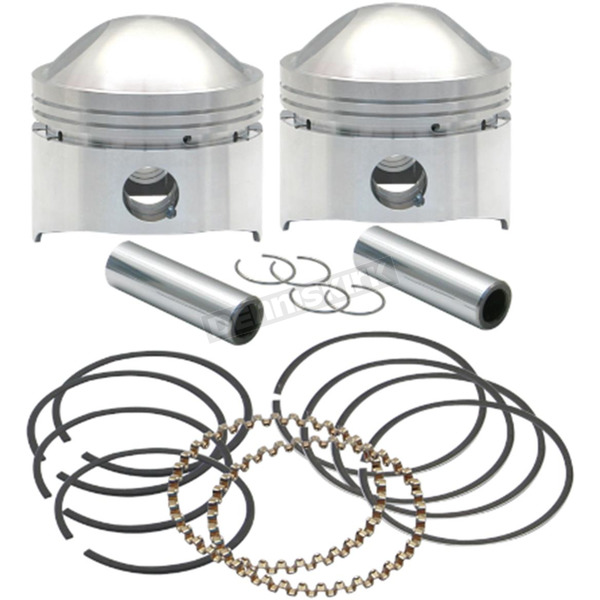 S&S Cycle Forged High Compression Piston Kit (.020
