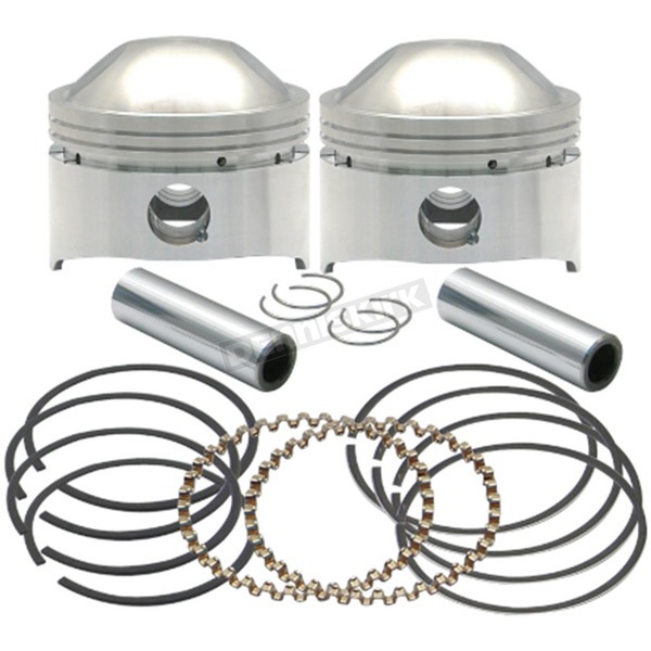 S&S Cycle Forged High Compression Piston Kit (.010