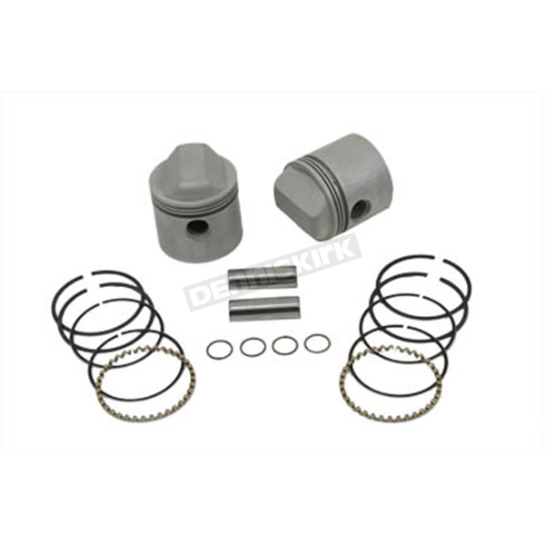 V-Twin Manufacturing Replica 1000cc Piston Assembly Set - 11-0209