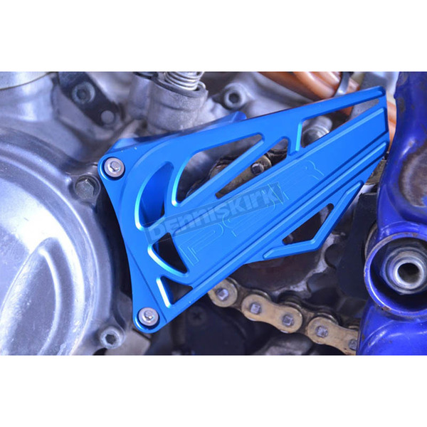 Powerstands Racing Blue Case Saver/Sprocket Cover Kit - 07-04150-25