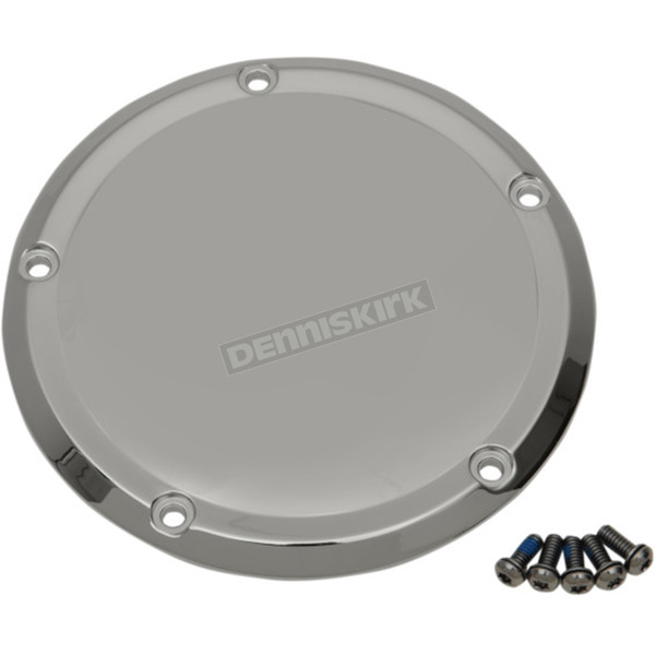 Drag Specialties Chrome Derby Cover - 1107-0489