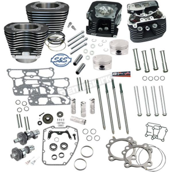 S&S Cycle 95 in. Hot Set Up Kit for 88 in. Engines - 106-0214