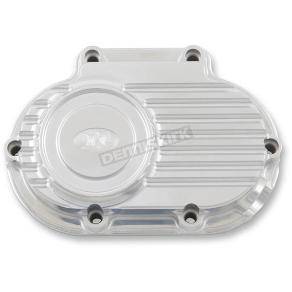 Ken's Factory Polished Cable Clutch Transmission Side Cover - 10-400