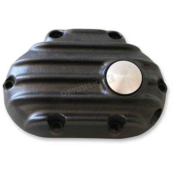 Speed Merchant Black Snatch Ribbed Transmission Side Cover - GB6TC/R/B