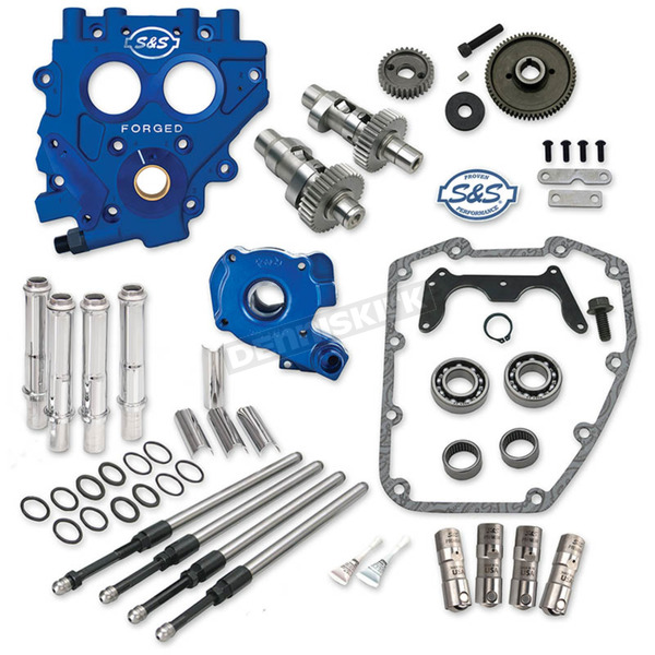 S&S Cycle 551EG Easy Start Gear Drive Cam Chest Kit w/Plate - 310-0812