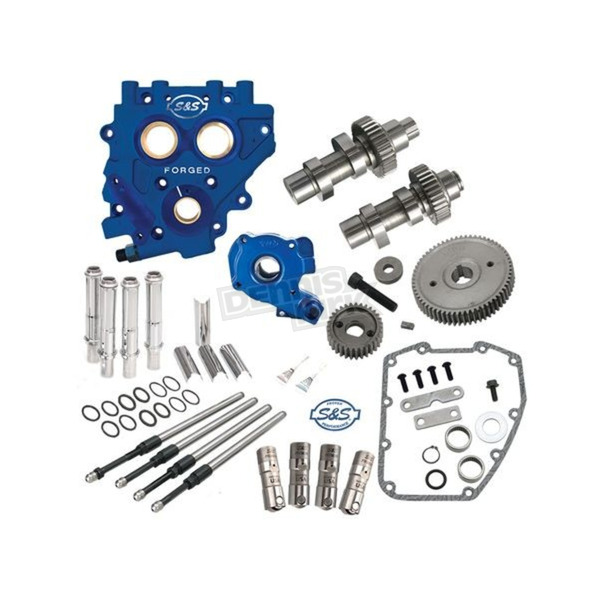 S&S Cycle 510G Gear Drive Cam Chest Kit w/Plate - 310-0814
