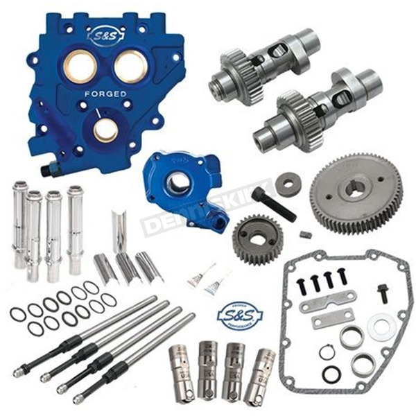 S&S Cycle 585EG Easy Start Gear Drive Cam Chest Kit w/Plate - 310-0816