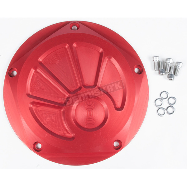Rooke Customs Red Derby Cover - R-C1601-T7