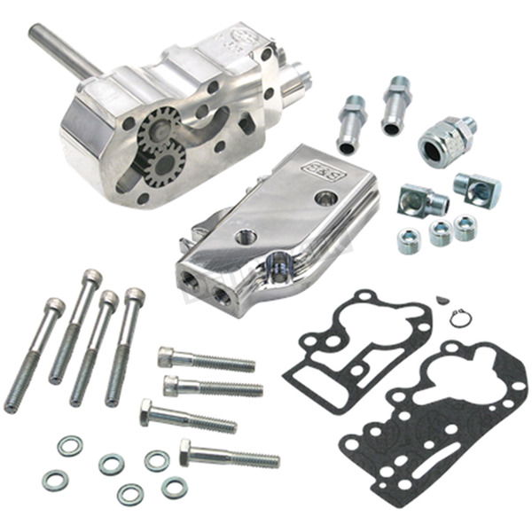 S&S Cycle Billet Universal Oil Pump Kit - 31-6205