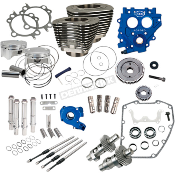 100 in. Black Power Package Big Bore Kit for Gear Drive - 330-0665