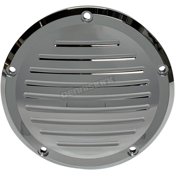 Chrome Milwaukee-Eight Ball-Mill Derby Cover - 203862