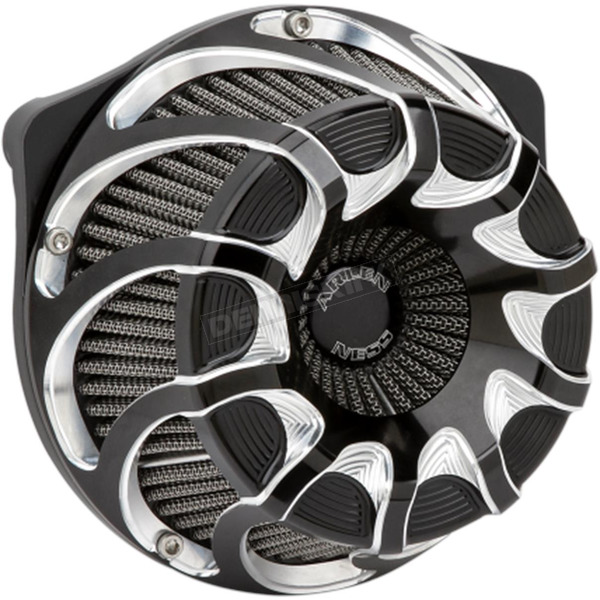 Arlen Ness Black Inverted Series Drift Air Cleaner Kit - 18-987