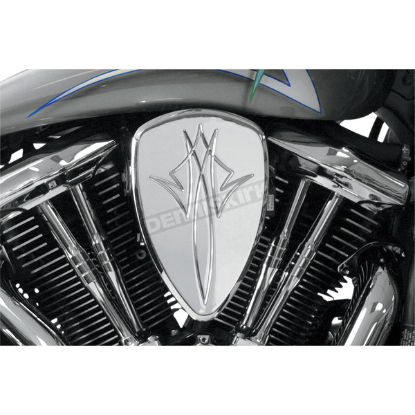 Baron Custom Accessories Pinstrip Chrome Big Air Kit - BA-2060-13