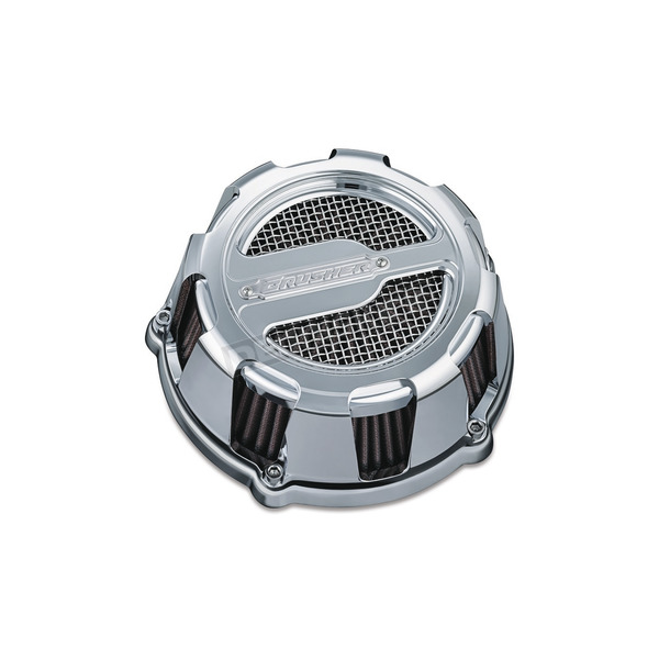 Crusher Chrome ECE Compliant Maverick Air Cleaner - 9654