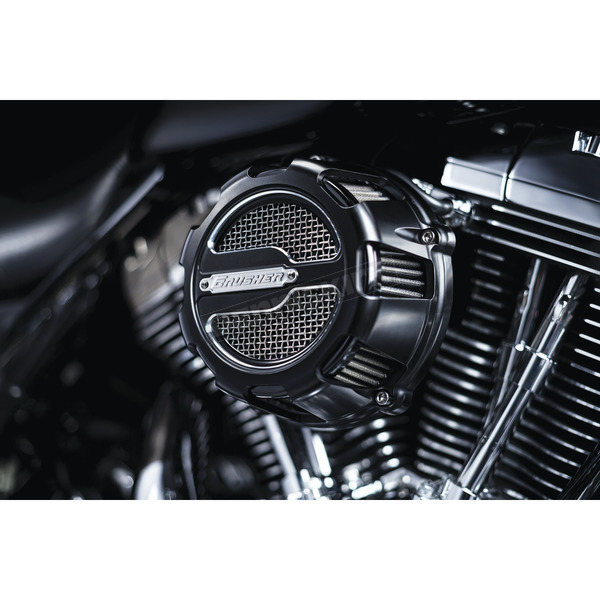 Crusher Black ECE Compliant Maverick Air Cleaner - 9655