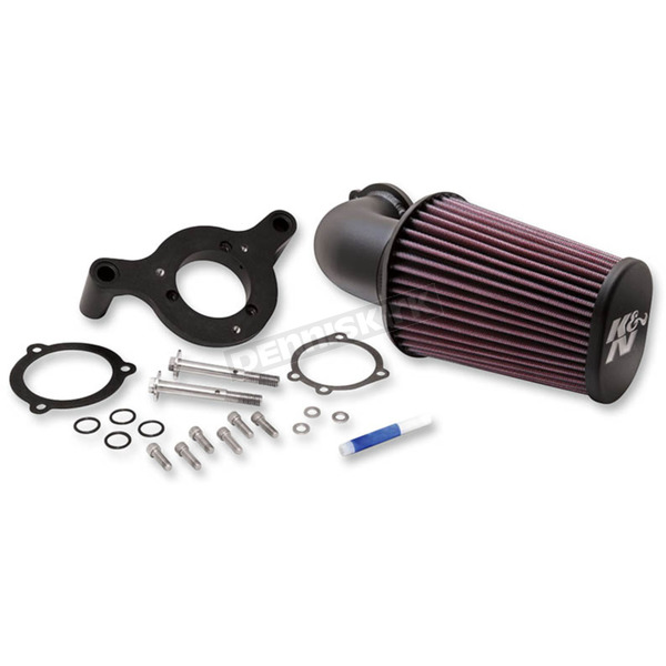 K & N Black Air Charger Performance Intake System - 57-1125
