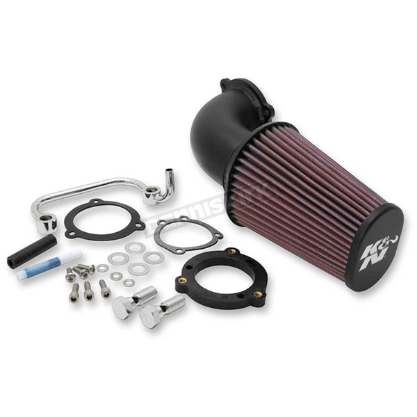K & N Black Air Charger Performance Intake System - 57-1126