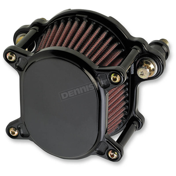 Joker Machine Black Smooth Omega Air Cleaner Assembly - 10-242-1