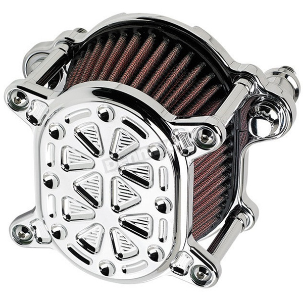 Joker Machine Chrome Techno Omega Air Cleaner - 02-168-3