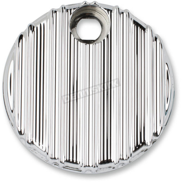 Arlen Ness Chrome 10-Gauge Fuel Door Cover - 04-216
