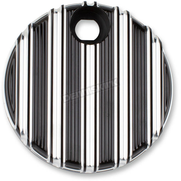 Arlen Ness Black 10-Gauge Fuel Door Cover - 04-217
