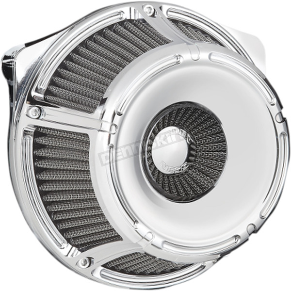 Arlen Ness Chrome Inverted Series Slot Track Air Cleaner - 18-914