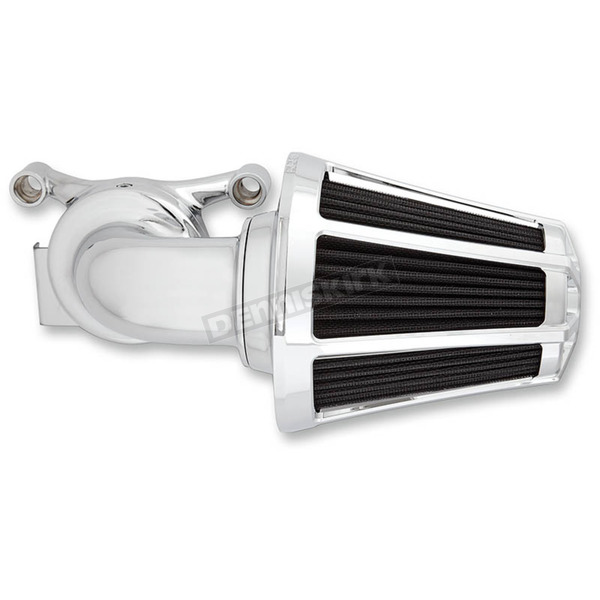 Arlen Ness Chrome Beveled Monster Sucker Air Cleaner Kit w/Cover - 81-028