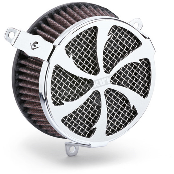Cobra Chrome Swept-Style Air Cleaner Kit  - 606-101-01