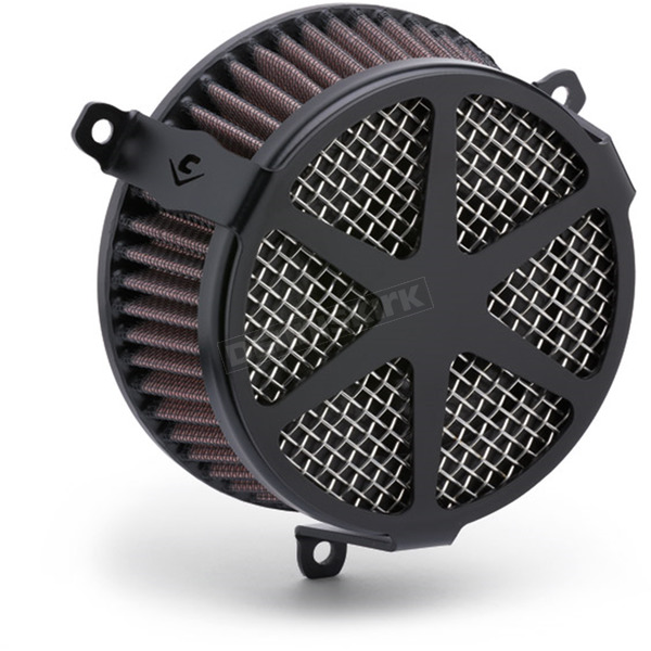 Cobra Black Spoke-Style Air Cleaner Kit  - 606-101-04B