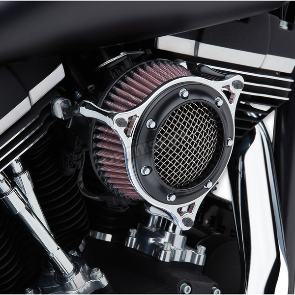 Cobra Black/Chrome Air Cleaner  - 606-101-05BC