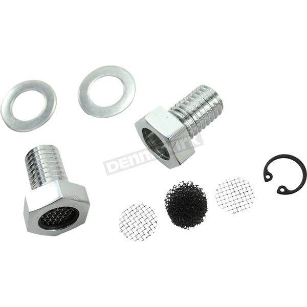 TC Bros. Choppers Breather Bolt Kit - 109-0082