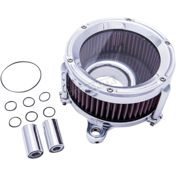 Trask Chrome Assault Charge High-Flow Air Cleaner  - TM-1023CH