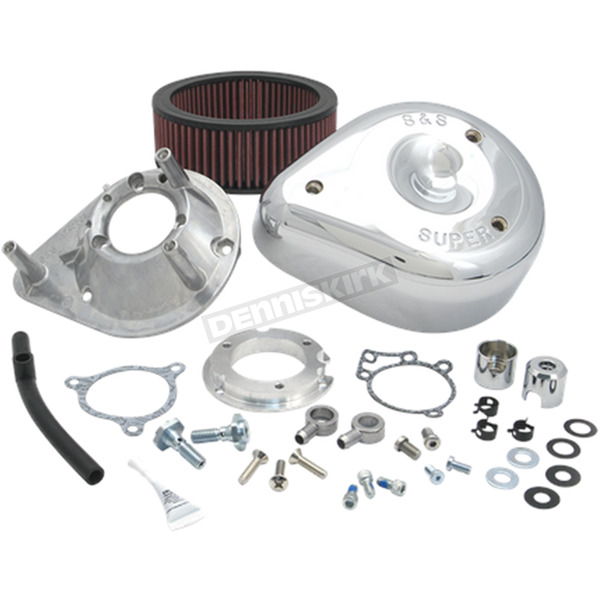 S&S Cycle ChromeTeardrop Air Cleaner Kit - 170-0305B