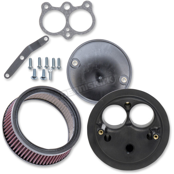 S&S Cycle Stealth Air Cleaner Kit W/Out Cover - 170-0414