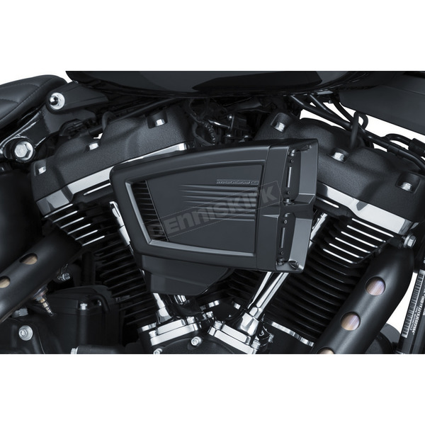 Satin Black Hypercharger ES Air Cleaner Kit - 9376