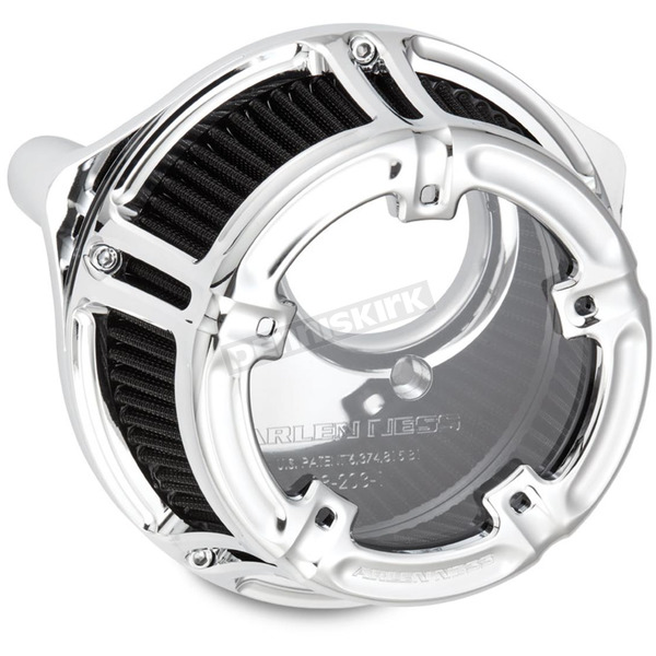 Arlen Ness Chrome Method Clear Series Air Cleaner - 18-973