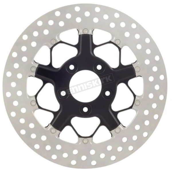Roland Sands Design 11.8 in Contrast Cut Front Hutch 2-piece Brake Rotor - 01331800HUTSBM