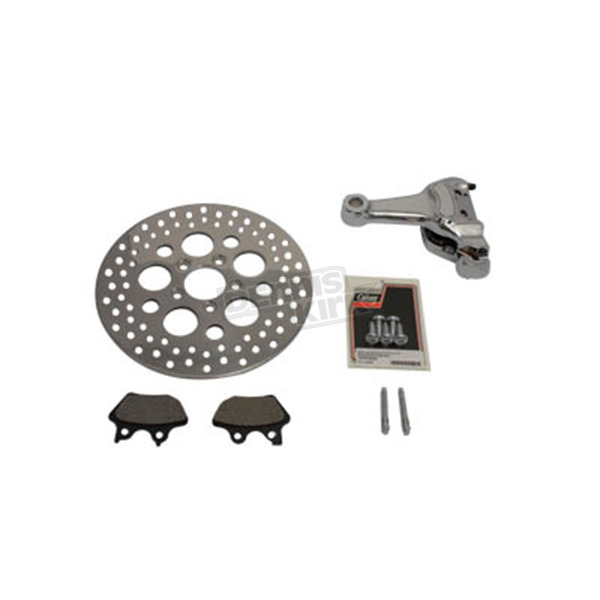 V-Twin Manufacturing Rear 4 Piston Caliper and 11 1/2 in. Disc Kit - 23-1091