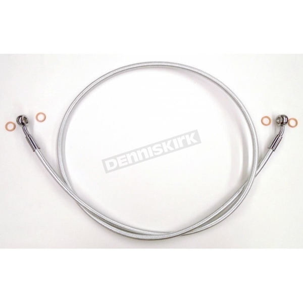 Magnum Sterling Chromite II Braided Front Single Disc Brake Line - 36951SW