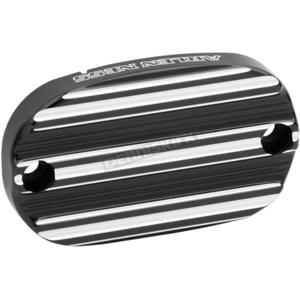 Arlen Ness Black 10-Gauge Rear Master Cylinder Cover - 03-231
