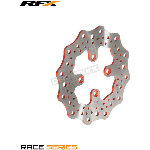 Moose Orange Rear RFX Rotor - 1711-1383