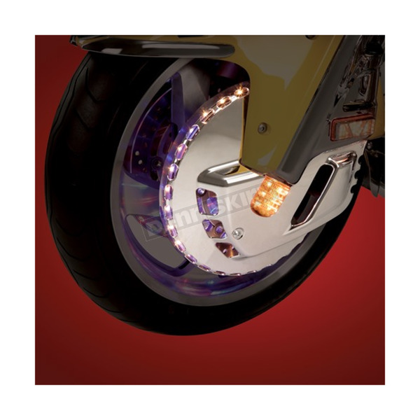 Tri-Color LED Front Rotor Cover - 52-624