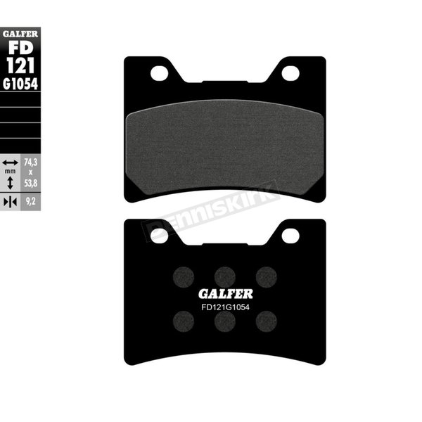 Semi-Metallic Brake Pads - FD121G1054