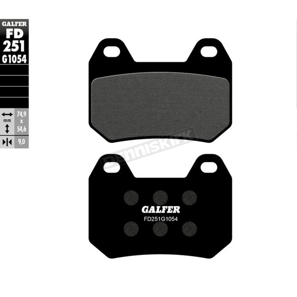 Semi-Metallic Brake Pads - FD251G1054