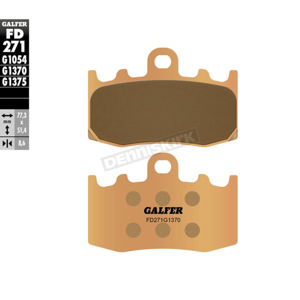 HH Sintered Brake Pads - FD271G1370